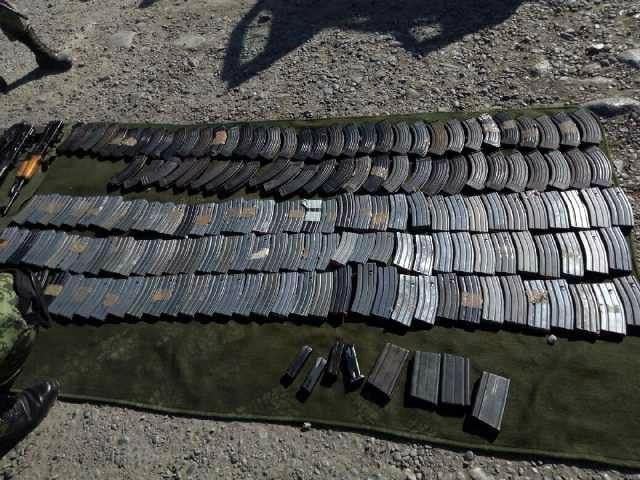 Military illegal arsenal