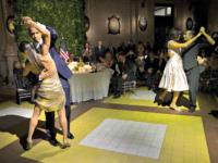 Obama Dances AP