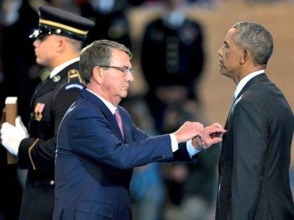 Obama-Distinguished Public Service Medal-Getty