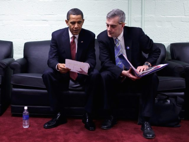 Obama and McDonough (Pete Souza / White House / Getty)
