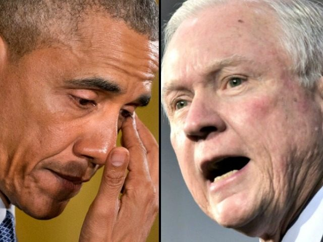 Obama and jeff-sessions