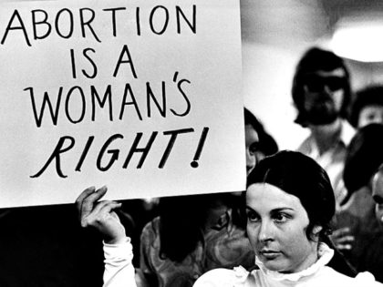 Pro-abortion Demonstrator 1971