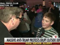 Watch: Young Protester Claims to Have Started Fire to Say 'Screw Our President'