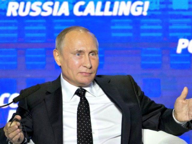 Putin on Russia Calling AP