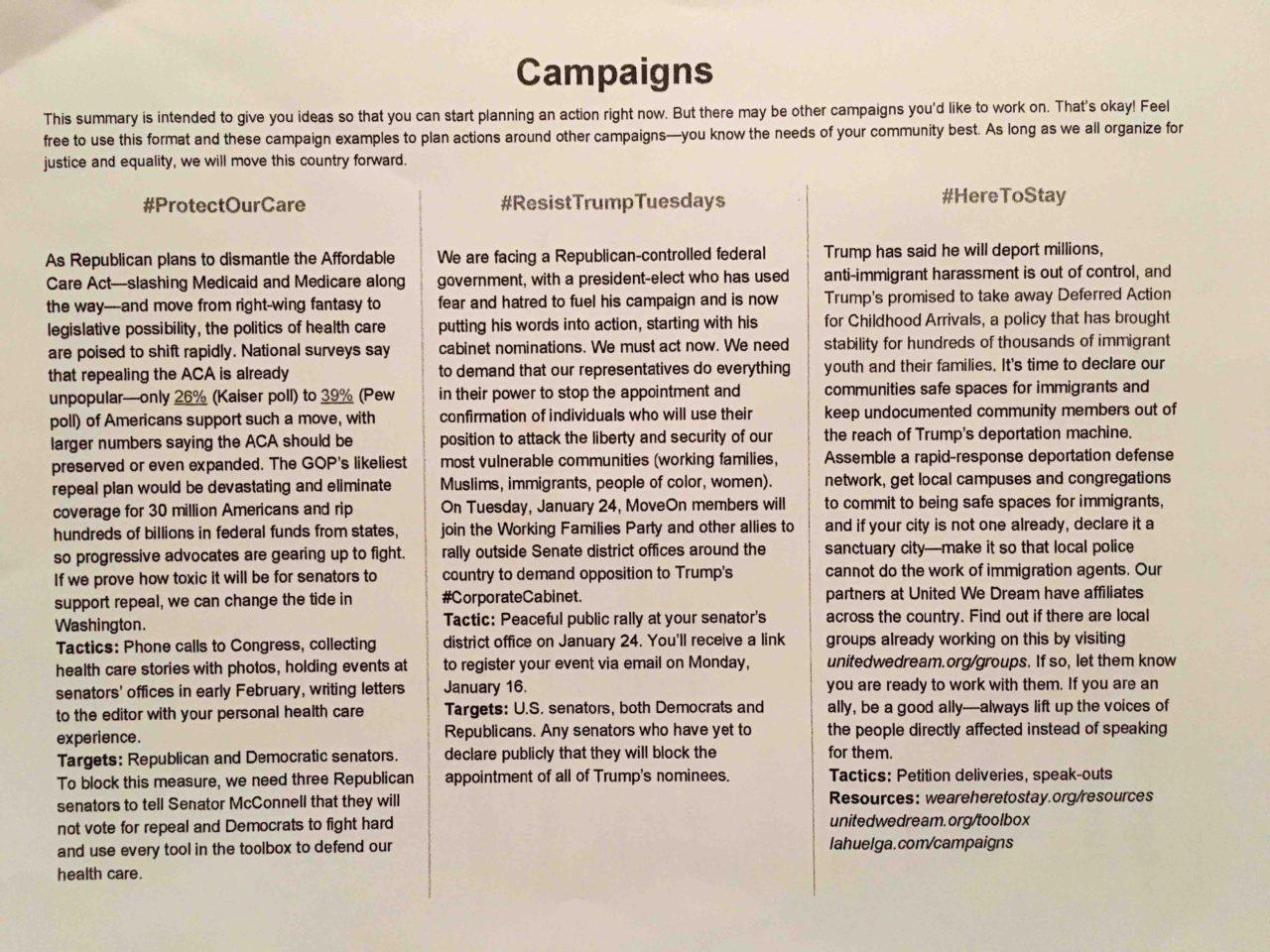 Resist Trum Agenda (Adelle Nazarian / Breitbart News)