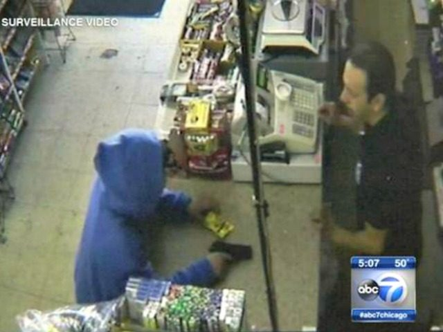 Robber Chicago Video ABC7