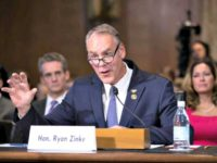 Ryan Zinke Testifies