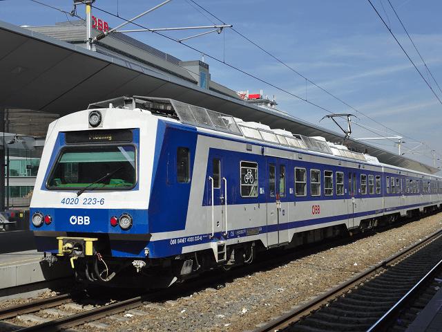 S Bahn Vienna