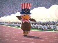 Sam the Eagle Los Angeles Olympics (Getty)