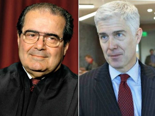 Justices Scalia and Gorsuch