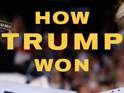 How Trump Won cover art shot (Regnery)