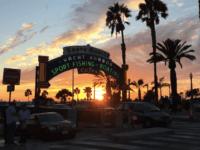 Santa Monica Pier (Joel Pollak / Breitbart News)