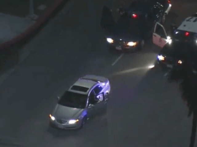 Car chase on 405 (Screenshot / YouTube / Carchase channel)