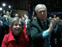 Robert Creamer and Jan Schakowsky at Obama farewell (Screenshot / CNN via Project Veritas)