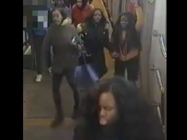 six teens beat up woman on ny train for looking at them with displeasure police say breitbart