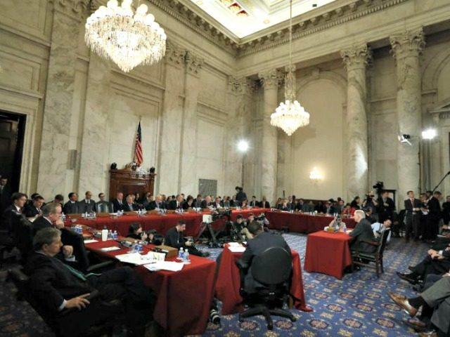 Senate Cabinet Hearing AP