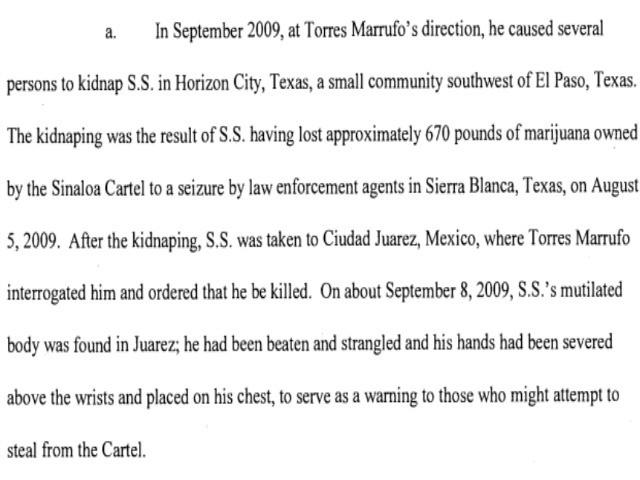 Sinaloa Cartel Murder