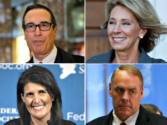 Capitol Hill Hosts Eight Confirmation Hearings for Trump's Cabinet ...