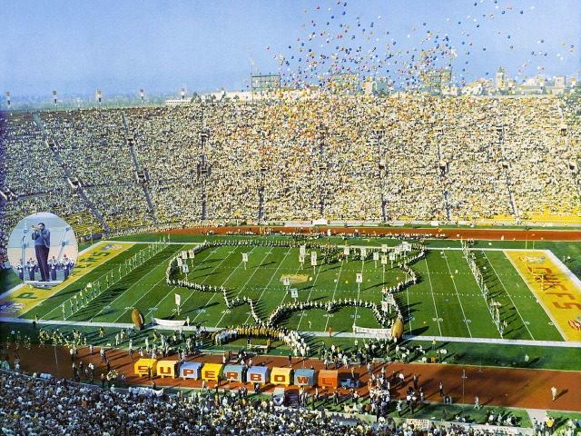 The first AFL-NFL World Championship Game in professional American football, known retroactively as Super Bowl I and referred to in some contemporaneous reports, including the game's radio broadcast, as the Super Bowl,[7] was played on January 15, 1967 at the Los Angeles Memorial Coliseum in Los Angeles, California. The National …