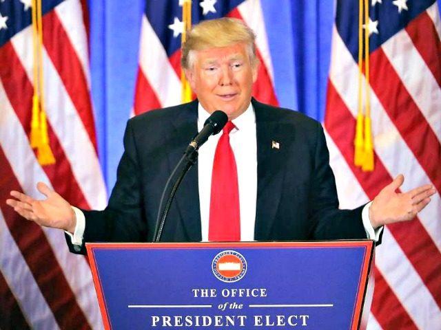 Trump Calls Fake News GettySpencer Platt