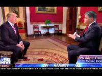 Trump Hannity Fox