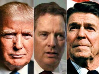 Trump, Robert Lighthizer, Reagan