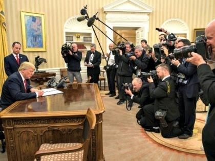 Trump Signs Exec Orders Getty