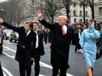 Trumps Walking Getty