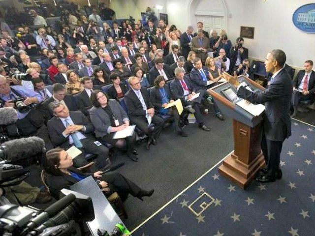 White House Press Corps AP