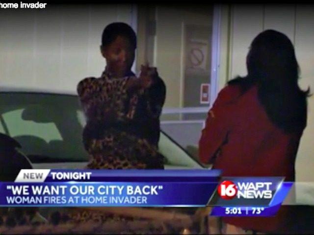 Woman Shoots Burglar