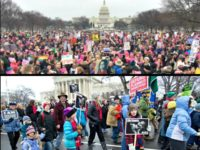 Women's March AFP vs March-for-Life-AP