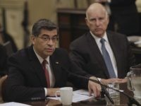 Xavier Becerra Jerry Brown (Rich Pedroncelli / Associated Press)