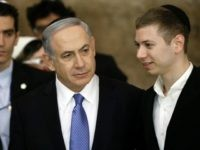 Israeli Prime Minister Benjamin Netanyahu (L) and his son Yair visit, on March 18, 2015, the Wailing Wall in Jerusalem following his party Likud's victory in Israel's general election. Netanyahu swept to a stunning election victory, securing a third straight term for an Israeli leader who has deepened tensions with …