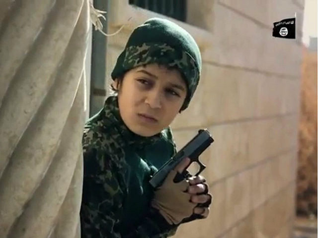 Islamic State 'Caliphate Cubs' Video Shows Children Executing Prisoners