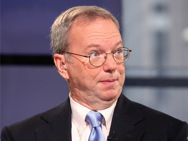 Former Google CEO Eric Schmidt: Restrictions on Chinese Hiring Are Hurting Big Tech