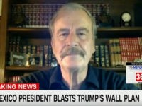 "Wednesday on CNN's ""Anderson Cooper 360,"" former Mexican President Vicente …"