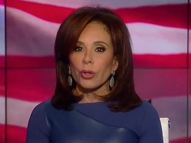 Judge Jeanine to Liberals: 'Donald J Trump Is the President for the Next Four Years -- Deal With It'