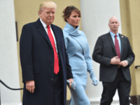Melania Trump Channels Jackie-O in Ralph Lauren