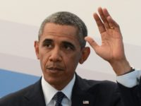 US President Barack Obama gestures during a press conference in Saint Petersburg on September 6, 2013 on the sideline of the G20 summit. World leaders at the G20 summit on Friday failed to bridge their bitter divisions over US plans for military action against the Syrian regime, with Washington signalling …