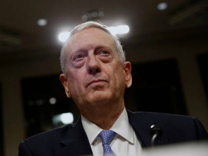 Retired U.S. Marine Corps General James Mattis testifies before a Senate Armed Services Committee hearing on his nomination to serve as defense secretary in Washington, U.S. January 12, 2017. REUTERS/Jonathan Ernst - RTX2YO9Z