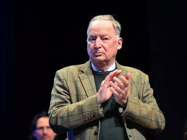 STUTTGART, GERMANY - MAY 01: Alternative fuer Deutschland (AfD) deputy chairman Alexander Gauland pictured at he party's federal congress on May 01, 2016 in Stuttgart, Germany. The AfD, a relative newcomer to the German political landscape, has emerged from Euro-sceptic conservatism towards a more right-wing leaning appeal based in large …