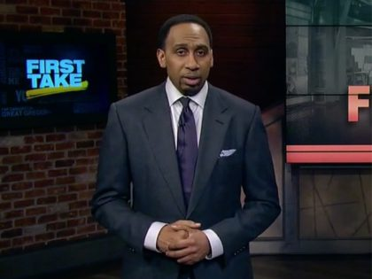 """ESPN """"First Take"""" host Stephen A. Smith weighed in on …"""