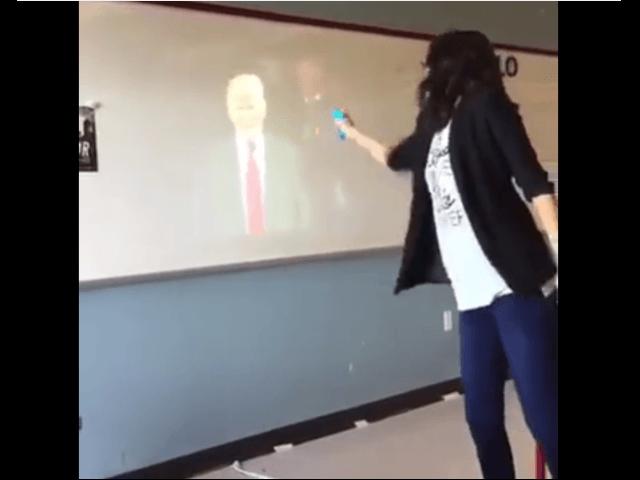 teacher trump shoot