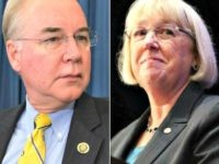 House Budget Committee Chairman Tom Price, R-Ga., joined at left by Vice-Chairman Todd Rokita, R-Ind., presides over a markup session as the panel presses ahead with a 10-year balanced budget plan that cuts federal health care programs and agency budgets even though tea party conservatives are rebelling in a setback …