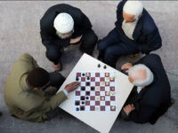 Kurdish men play chess on April 7, 2010 in Diyarbakir. Leaders of Turkey's Kurds have warned Ankara of rekindled violence as disillusionment is descending on the restive community over faltering promises of reform and a massive police crackdown. AFP PHOTO/BULENT KILIC (Photo credit should read BULENT KILIC/AFP/Getty Images)