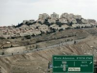 A picture shows the West Bank Jewish settlement of Maale Adumim near Jerusalem on March 2, 2009. Israel's housing ministry has plans for West Bank construction that would nearly double the number of settlers in the occupied territory, the anti-settlement group Peace Now said. AFP PHOTO/ AHMAD GHARABLI (Photo credit should read AHMAD GHARABLI/AFP/Getty Images)