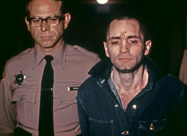 Charles Manson waiting to hear his death sentence in 1971 -- the 82-year-old mass murderer is now in a California hospital