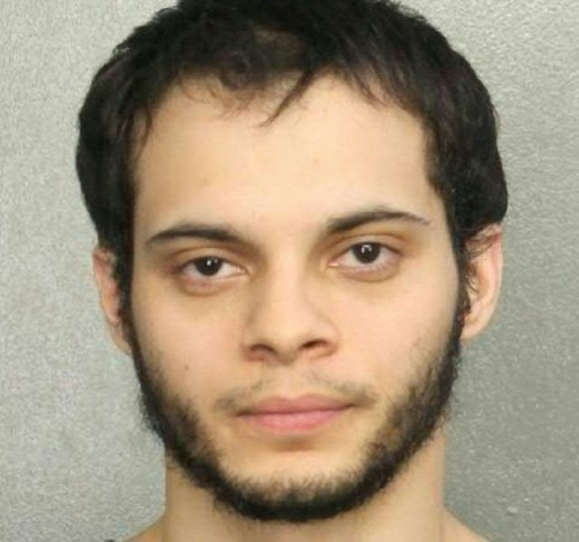 Esteban Santiago, 26, was accused of killing five, wounding six and sending thousands scrambling for safety in a shooting rampage at the Fort Lauderdale International Airport