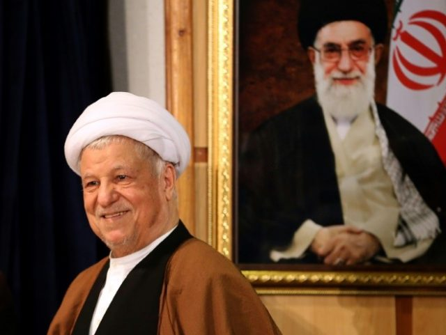 Former Iranian president Akbar Hashemi Rafsanjani was a key figure in the foundation of the Islamic republic in 1979