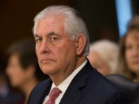 Former ExxonMobil CEO Rex Tillerson appears before the Senate Foreign Relations Committee on January 11, 2017
